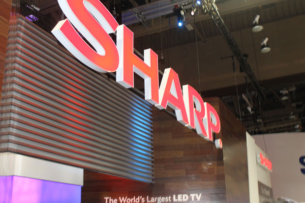 Sharp is struggling and is looking for ways to turn around - a move that might result in its display business being spun off