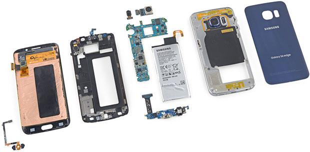 Samsung Galaxy S6 Edge Parts