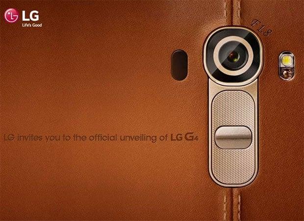 LG G4 Invite