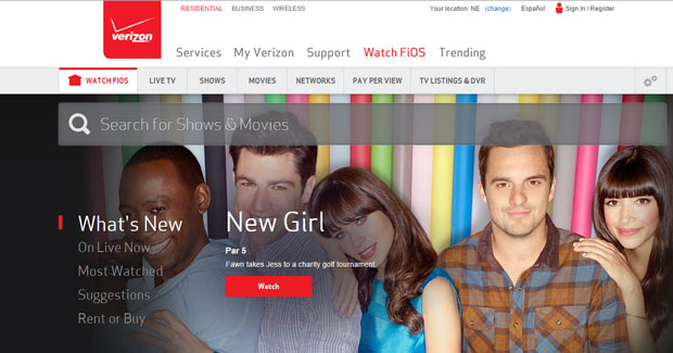 Verizon FiOS now lets people choose channels by packs instead of large bundles