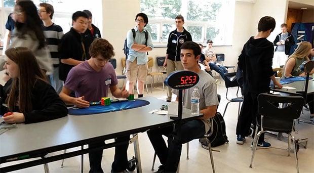 Rubik's Cube Record