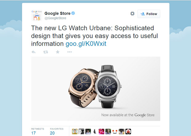 The LG Urbane is classy and rolls in at the same price as the least-expensive Apple Watch.