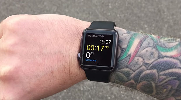 Apple Watch and Tattoo