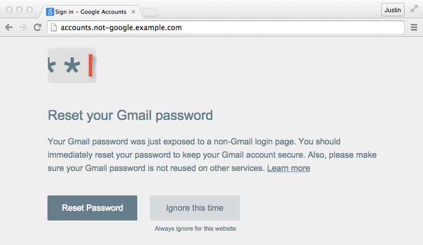 phishing caught