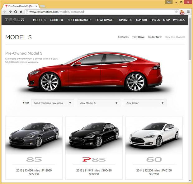 Tesla Certified Pre Owned >> Tesla Kicks Off Online Sales For Certified Pre Owned Model S