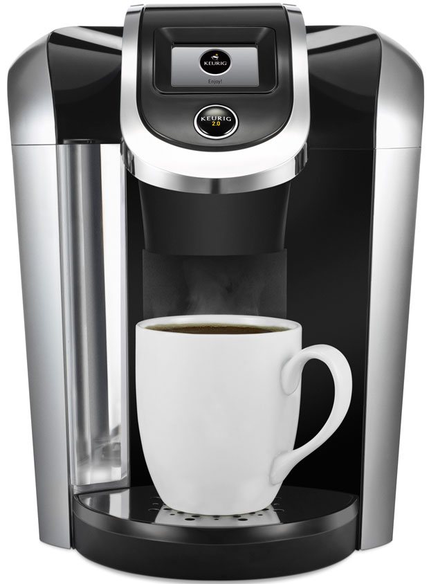 Keurig is backing away from some of its coffee DRM