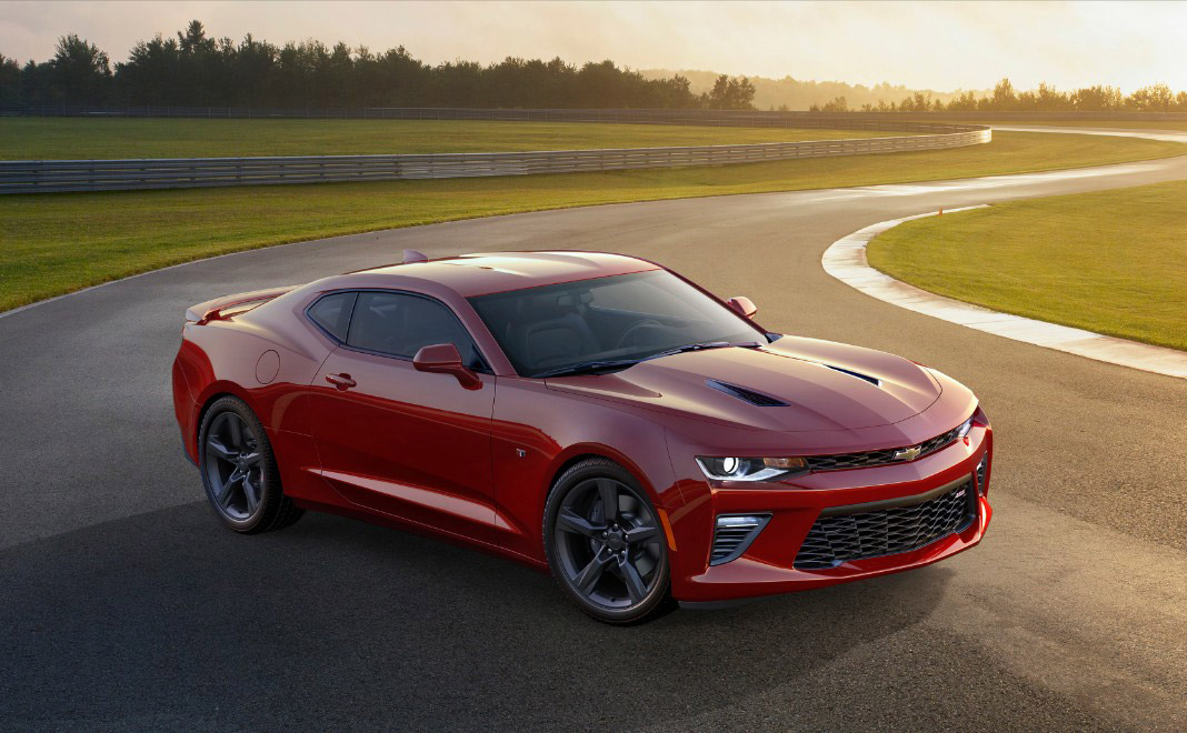 GM Is Ready To Kick Some Mustang Ass With Lighter, 455 Horsepower 2016 Chevrolet Camaro SS