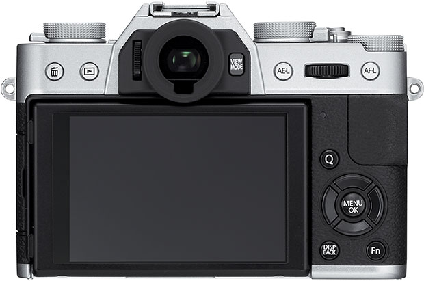 Fujifilm X-T10 Back