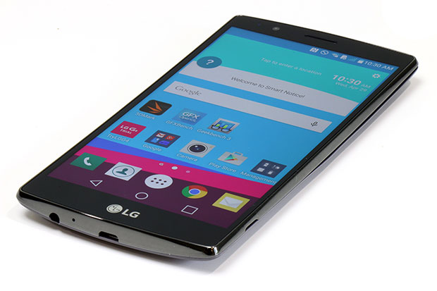 LG G4 Home Screen