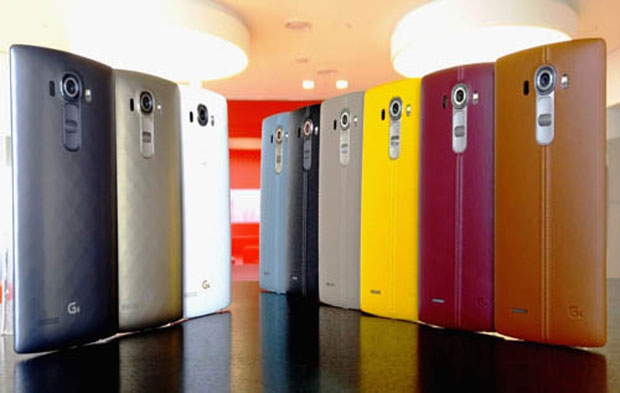 LG is banking on a cool leather back and a high-end camera to pull some market share from Samsung and Apple