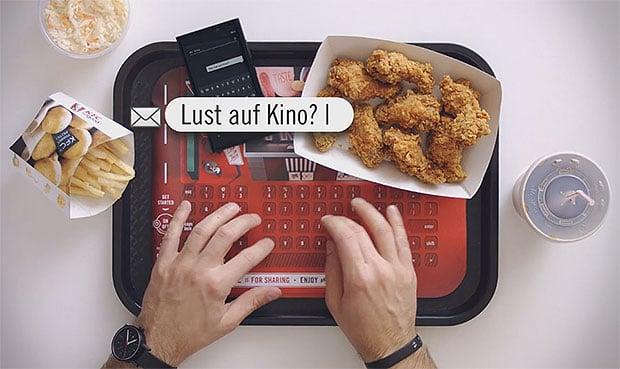 KFC Tray Typer