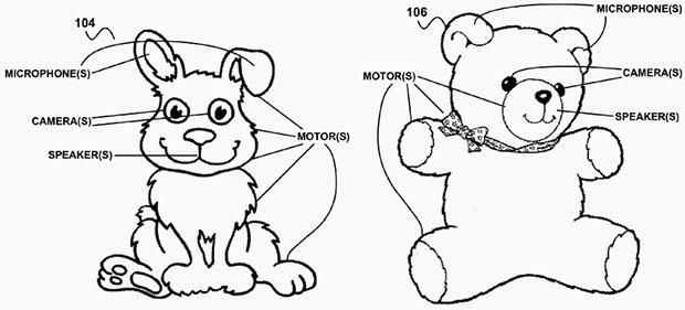 Google Patent Teddy Bear