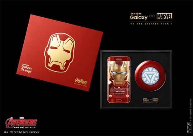 Samsung Galaxy Edge S6 Edge Iron Man Box