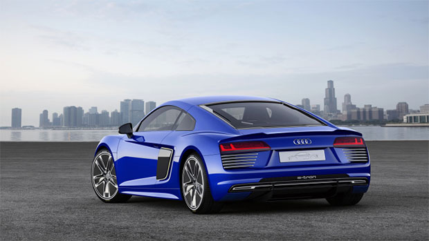 SelfDriving Audi R Etron Supercar Debuts At CES Asia HotHardware - Audi r8 e tron