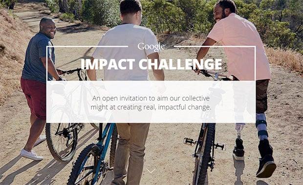 Google Impact Challenge