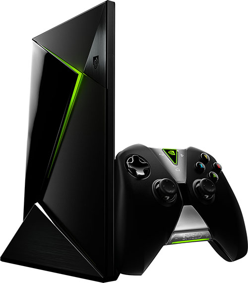 NVIDIA SHIELD Android TV Set-Top Box And Game Console