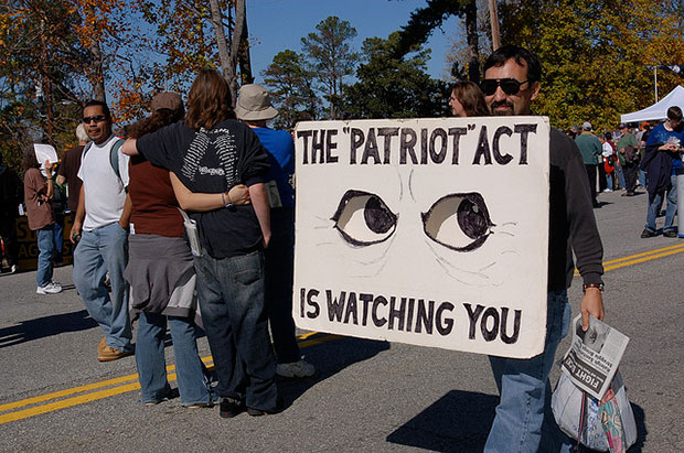 Patriot Act Watching You