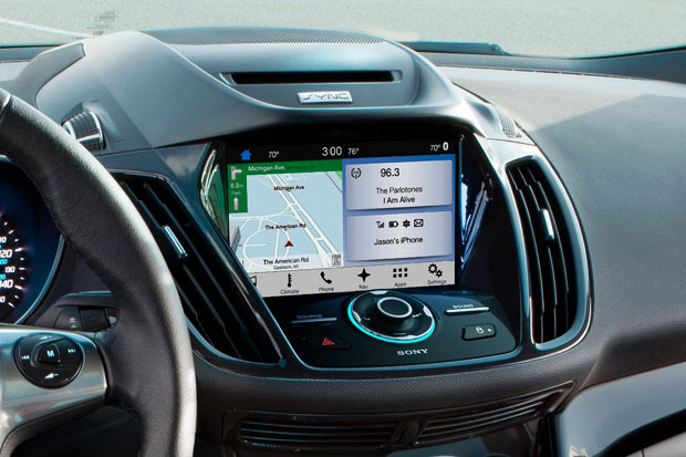 The Sync 3 infotainment system is the latest in Ford's efforts to capture customers with high-tech offerings.