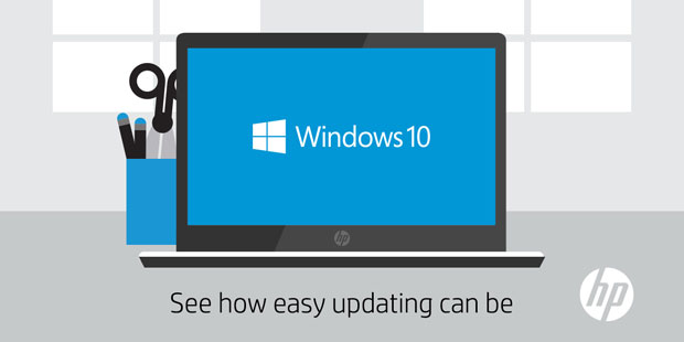 Microsoft plans to release Windows 10 July 29. HP says any 2015 systems from it will support the new OS.