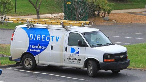 DirecTV Van