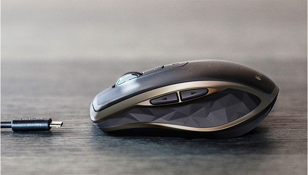 Logitech MX Anywhere 2 Side View