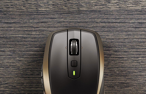 Logitech MX Anywhere 2 Top View