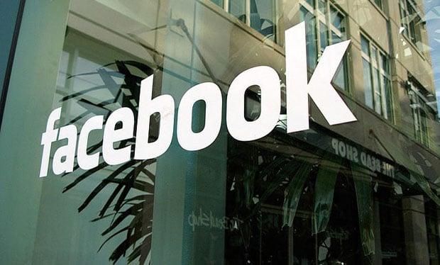 Facebook Headquarters in Menlo Park, California