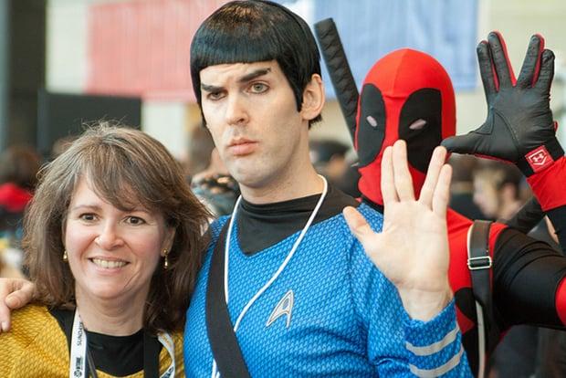 Spock Deadpool