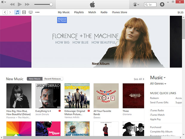Apple's iTunes Store