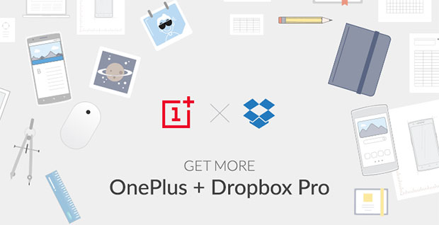 OnePlus and Dropbox