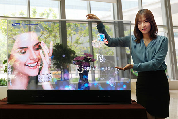 Samsung Transparent OLED