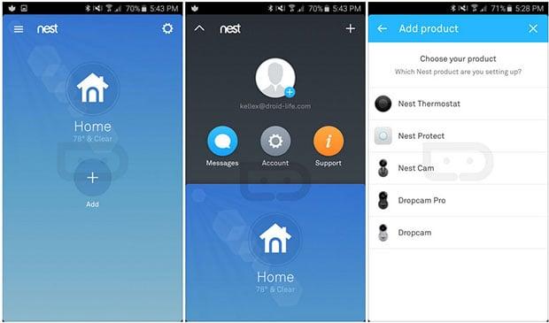 Nest Mobile App
