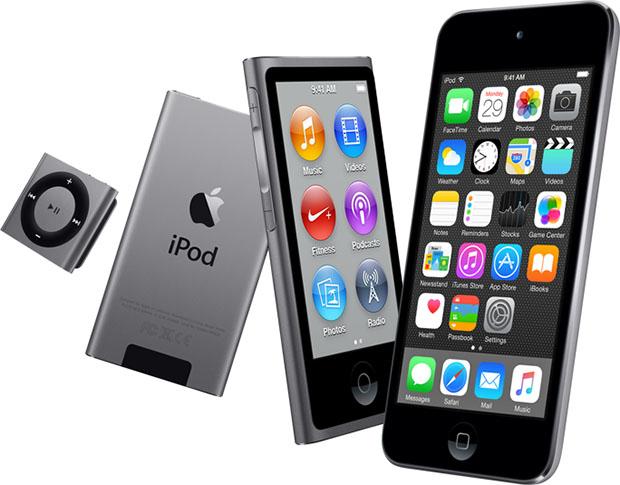 Apple iPod Lineup