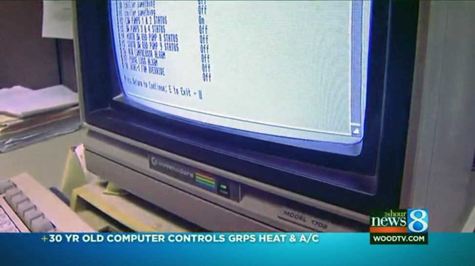 30 Year Old Commodore Amiga Still Provides HVAC Climate Control For Michigan School System