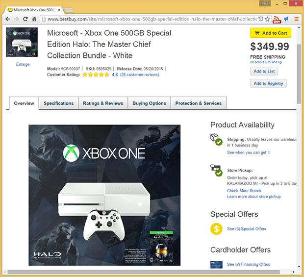 Xbox One Best Buy