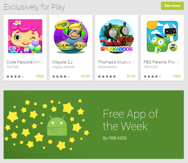 There is a new free app in the Family section of the Play Store