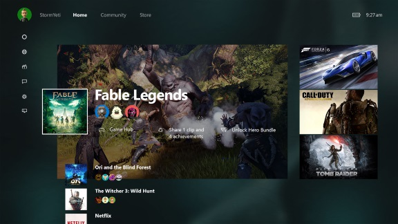 Xbox One UI Update