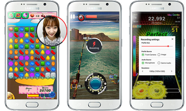 Game Recording On Samsung Smartphones
