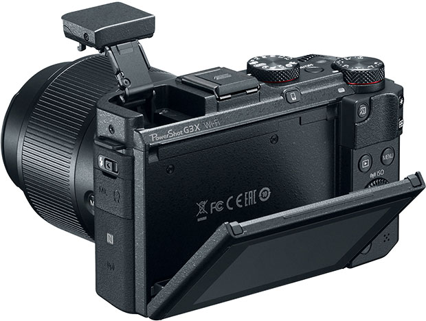 Canon Powershot G3 X Back