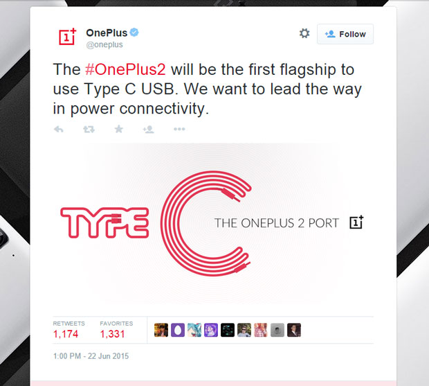 oneplus plans Type C USB