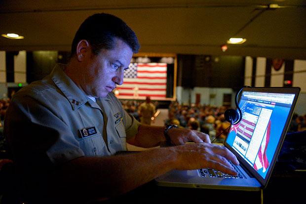 Navy Computer