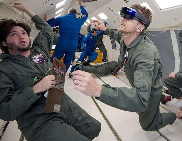 Microsoft NASA HoloLens Sidekick
