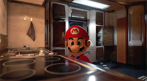 Super Mario Unreal Engine 4