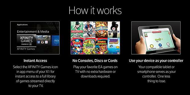 Comcast X1 Gaming