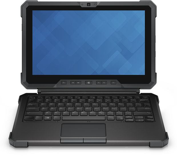 Latitude 12 Rugged Tablet - With Keyboard Cover