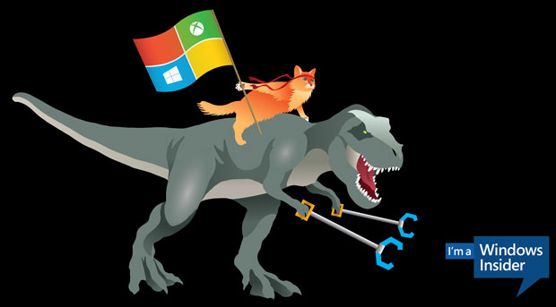 Windows 10 cat