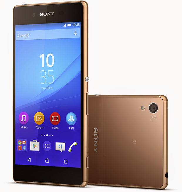 Sony Xperia Z3plus Copper