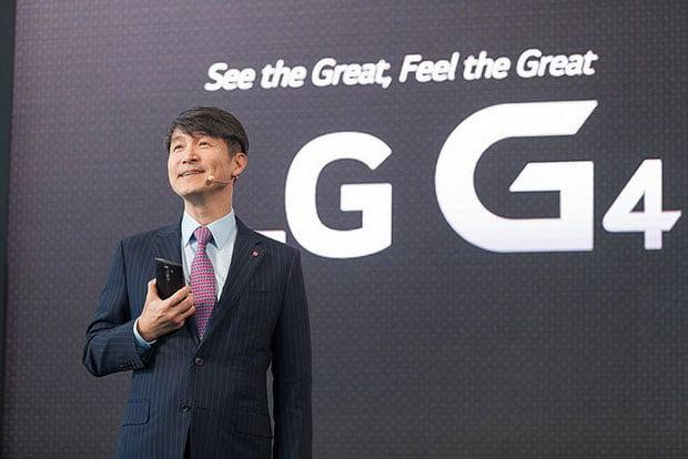 LG's Jun Ho Cho