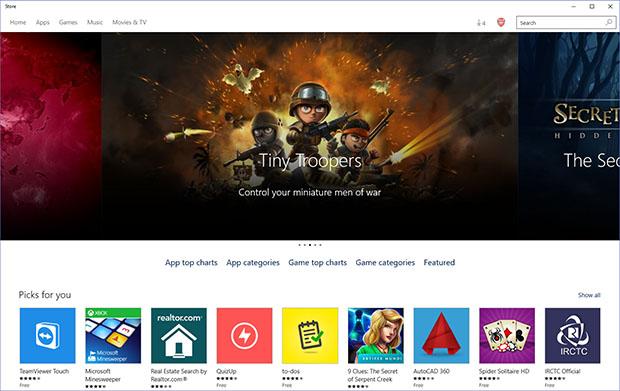Windows 10 Store