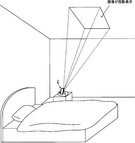 Nintendo QOL Projector Patent